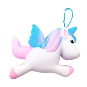 Kawaii Unicorn Squishy Slow Rising Cartoon Doll For Children