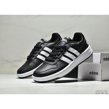 ADIDAS HOOPS 2.0 2019 new casual low men and women sports shoes Black