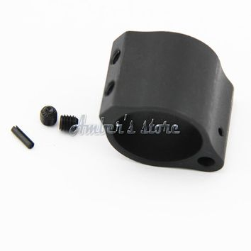 NEW  M4 / AR15 Steel Low Profile Micro Rifle Gas Block + Roll Pin for936 .936 0.936