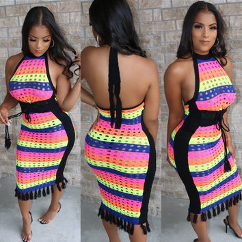Caribana Crochet Dress
