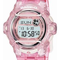 Casio Baby-G Whale - Crystal Pink Band - World Time Chronograph - 200 Meters
