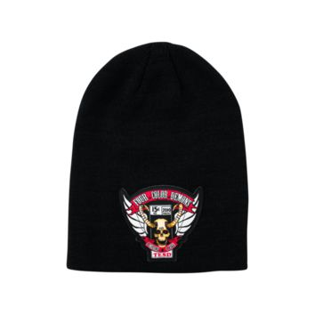 Four Color Demons Patch Beanie