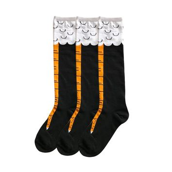 Chicken Funny Legs High Long Socks Funny Crazy Cool Novelty Cute Fun Funky Colorful