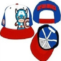 Marvel Kawaii Captain America Snapback HAT Cap