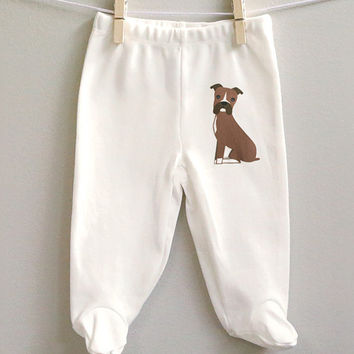 Boxer cotton baby pants