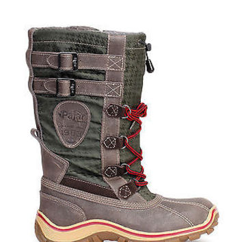 Pajar Canada Womens Snow Boots Adriana Waterproof Brown