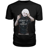 Tokyo Ghoul - WHAT'S 1000 MINUS 7 - Men Short Sleeve T Shirt - SSID2016