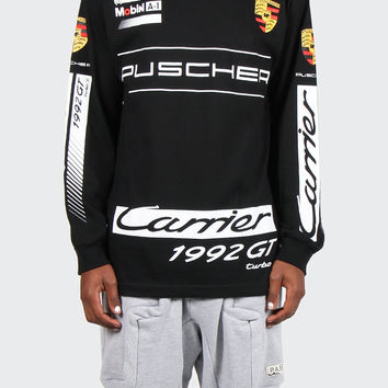 92 Puscher Long Sleeve T-Shirt - black