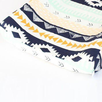 Changing Pad Cover | Aztec Arid Horizon