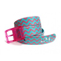 Chevron C4 Belt | TPE Plastic Belt | Custom Plastic Belts | Rave Gear