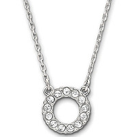 Swarovski Towards Circle Delicate Pendant Necklace