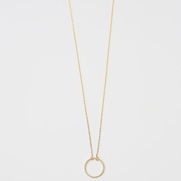 Felicity Circle Necklace
