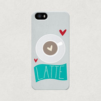 Love Latte Coffee iPhone 4 4s 5 5s 5c Case