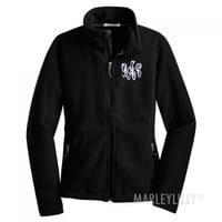 Monogrammed Fleece Jacket | Marley Lilly