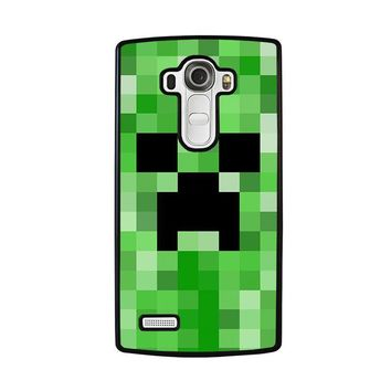 CREEPER MINECRAFT 2 LG G4 Case Cover