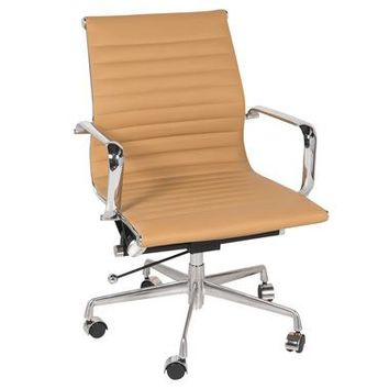 Eames Style Group Management Office Chair, Brown