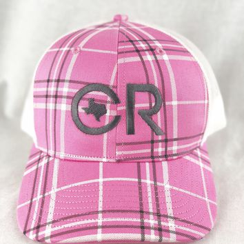 CR Pink Plaid Hat