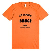GRACE NAME T SHIRT_IT'S A SPECIAL GRACE THING YOU WOULDN'T UNDERSTAND TEE SHIRT