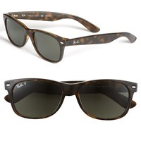 Men's Ray-Ban 'New Wayfarer' 55mm Polarized Sunglasses