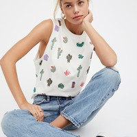 Free People We The Free Little Cactus Tank