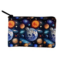 Galaxy Solar System Coin Purse