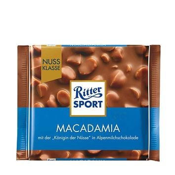 Ritter Sport Milk Chocolate with Macadamia 3.5 oz.