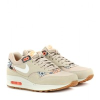 Nike Air Max 1 printed suede sneakers