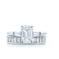Tiffany & Co. | Engagement Rings | Emerald Cut With Tapered Baguettes | United States