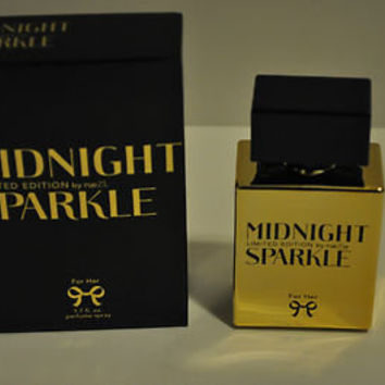 RUE 21 MIDNIGHT SPARKLE LIMITED EDITION PERFUME FOR HER SIZE 1.7 OZ.NEW RELEASE!