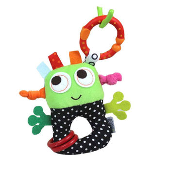 Christmas Gift children's toys for infants baby rattles toys small robots hanging infant Bell girl boy stroller teethers toys