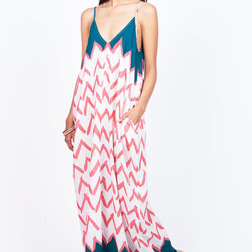Sound Wave Maxi Dress