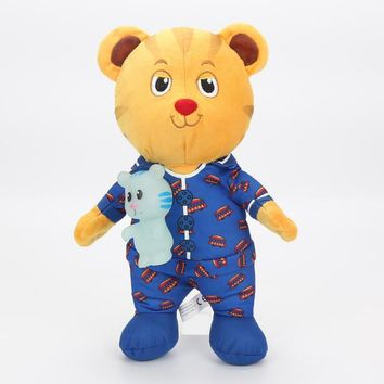 Daniel Tiger's Neighborhood Tiger Katerina Cat Friends Plush Doll Stuffed Toys kids toys 30cm