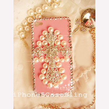 iPhone 4 Case, iPhone 4s case, iPhone 5 Case, Bling iPhone 4 case, iPhone 5 bling case, Cute iPhone 4 case, iPhone 4 case cross, iphone 5
