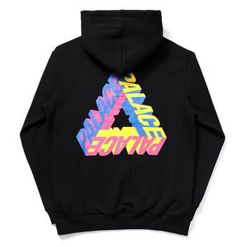 Palace Hoodies Sweatshirts Skateboard Jackets Mens Womens Tracksuit Hip Hop Streetwear Pullover Oversized Harajuku Winter Brand Coat Fleece