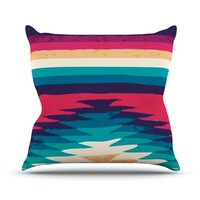 "Nika Martinez ""Surf"" Throw Pillow"