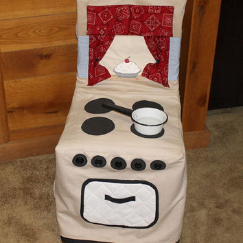 Chair Cover Play Kitchen Stove, Kitchen Stove Chair Cover, Cloth Kitchen Chair Cover, Kitchen Stove, C43