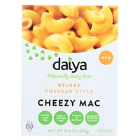 Daiya Foods Inc Cheezy Mac - Deluxe - Cheddar Style - Dairy Free - 10.6 oz - Pack of 8