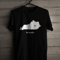 Kentucky Love Map 242 Shirt For Man And Woman / Tshirt / Custom Shirt