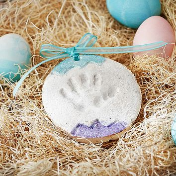 Baby Handprint Footprint Easter Egg Kit