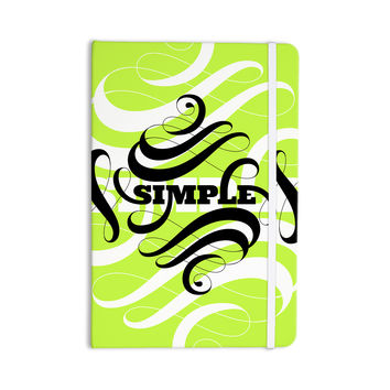 "Roberlan ""Simple"" Lime Green Everything Notebook"