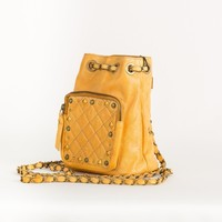 Small Leather Back Pack