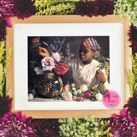 50% Off Sale-Vintage Printable Wall Art Digital Prints  Africa American Woman Print  Vintage Home Decor  Antique Collage Artwork  Table Art