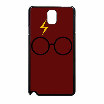 Harry Potter Glasses And Lightning Bolt 734 Samsung Galaxy Note 3 Case