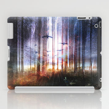 Absinthe forest iPad Case by HappyMelvin