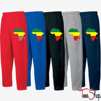 Africa Reggae Design 1 Sweatpants