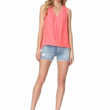 Alice & Trixie Mallory Top - 629 - peachy pink