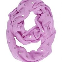 Foil Dot Eternity Scarf | Girls Scarves Accessories | Shop Justice