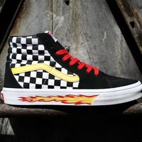 VANS Thrasher 2017 classic Flame Joint Shoes