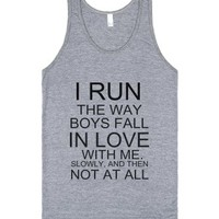 Slowly and then not at all-Unisex Athletic Grey Tank