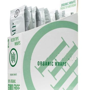 High Hemp Organic Wraps (50 wraps)